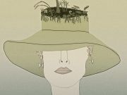 Living Hat Print
